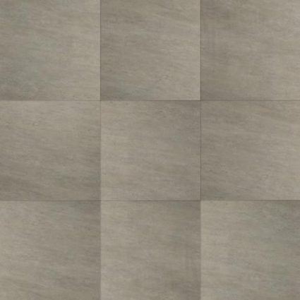 Excluton - Kera Twice - 60x60x4 cm - moonstone grey