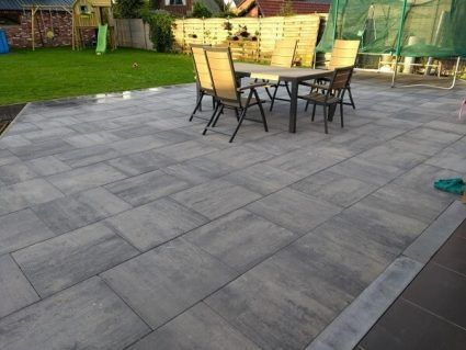 Kijlstra - Patio Square - 60x60x4 cm - Nero Grey