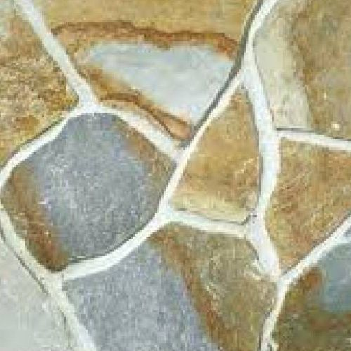 Excluton - Flagstones Tegels - 20/35mm - Karistos Green