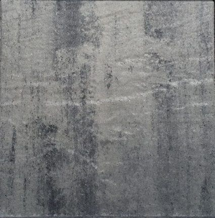 Kijlstra - H2O Square Excellent Reliëf - 60x60x5cm - Nero Grey