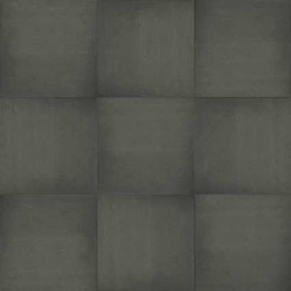 Excluton Optimum- Fuego - 60x60x4cm - Nero