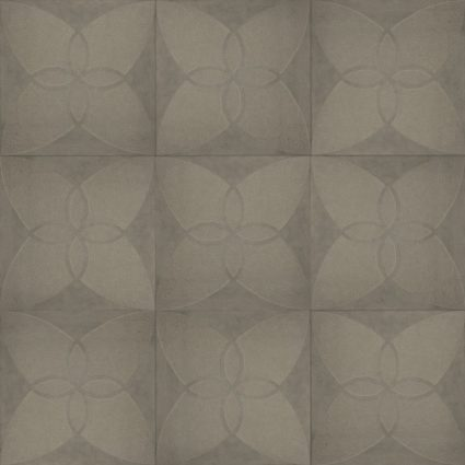 Excluton - Optimum Decora - 60x60x4 cm - Silver Iris