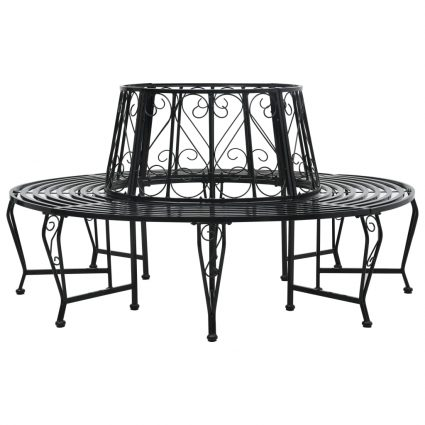 Boombank rond 160 cm staal