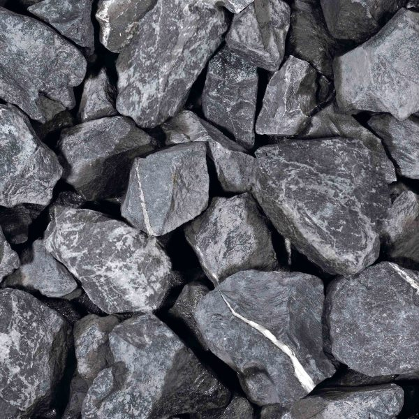 Michel Oprey - Siergrind Marquina Royal brokjes - 30-60 mm - zwart - Big bag 500 kg