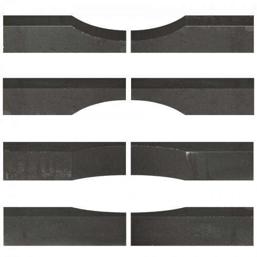 Excluton - Linia Excellence Wave 15x15x60 cm Nero